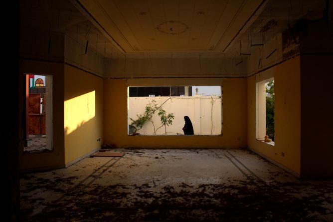 "Fatima Al Yousef, from the series ""Thekrayat"" (Memories)"