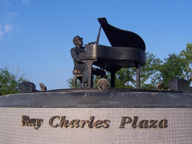 Ray Charles Plaza | © Rich/Flickr