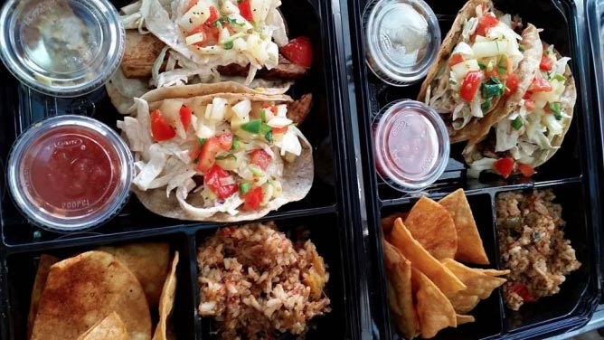 Fish tacos from South Padre | Courtesy South Padre