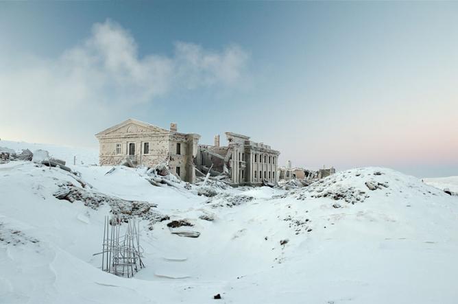 Frozen scenes in Norilsk |Courtesy of Elene Chernyshova