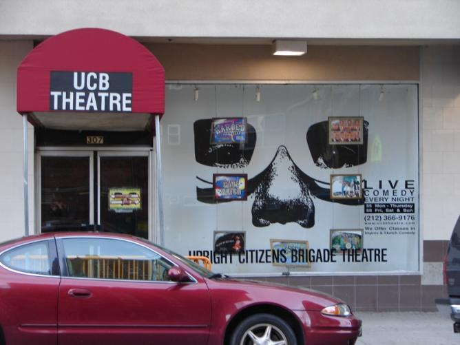 The UCB Theatre in NYC   © Andy/Flickr