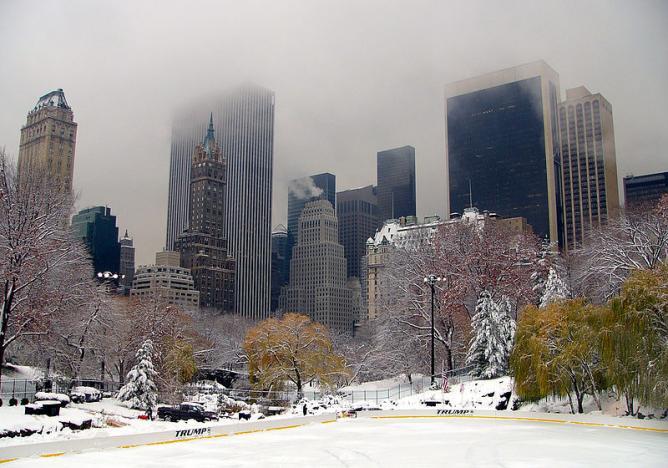 Winter in New York City   © robertpaulyoung/WikiCommons