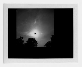 Michael John Whelan, Transit of Venus (2), 22 x 24 cm, Grey Noise Gallery, 2012 | Courtesy of the artist and Grey Noise