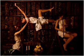 Nazif Topcuoglu, Magic Carpets, 116 x 175 cm, Green Art Gallery, 2010   Courtesy of the artist and Green Art Gallery