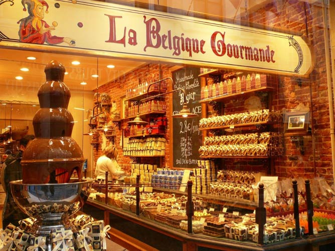 Belgian chocolate shop | © Jessica Gardner/Flickr