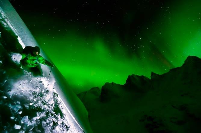 Northern Lights: Tobin Seagel, Tombstone Mountains, Yukon