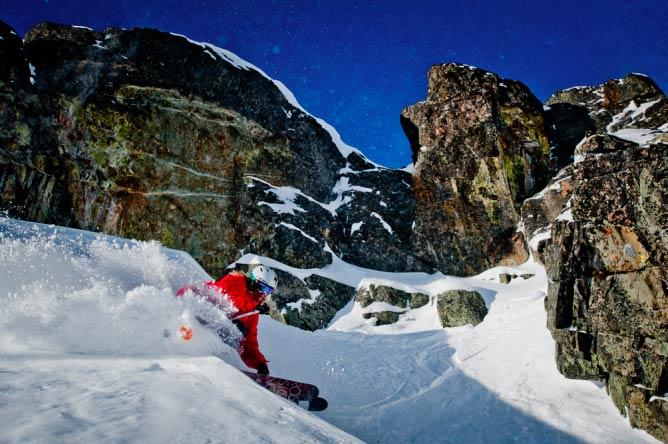 Dave Treadway, Whistler Mountain BC © Reuben Krabbe