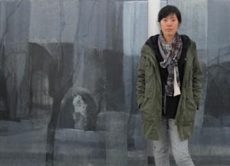 gao ping in her studio