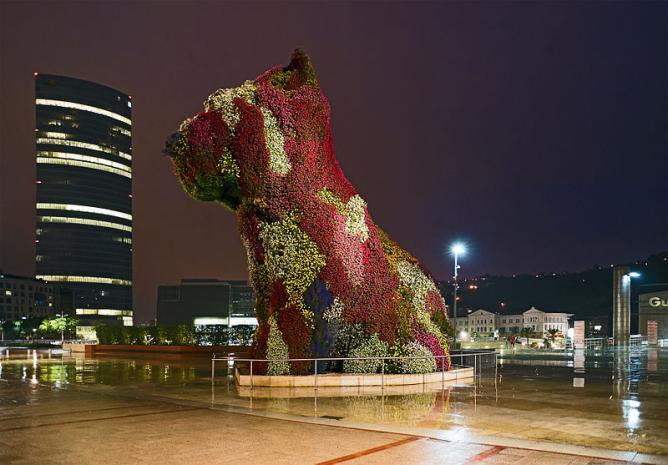 Jeff Koons 'Puppy'