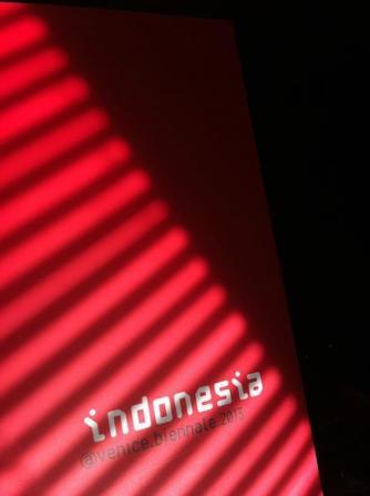 Indonesia Pavilion at 2013 Venice Biennale