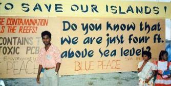 Information posters © Maldives Pavilion