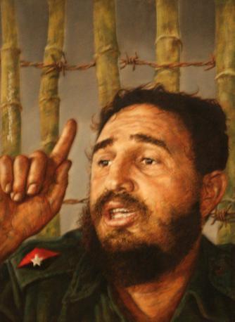 Fidel Castro by Bernard Safran