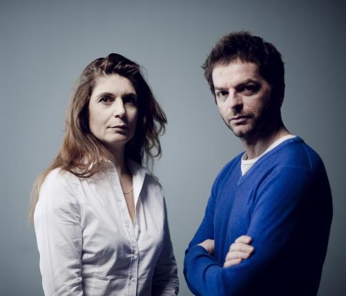 Christine Macel et Anri Sala © Julien Mignot / Eté 80