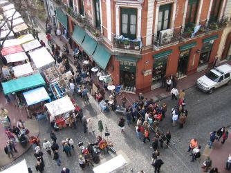 Plaza Dorrego | © Benutzer:Zenfea/WikiCommons