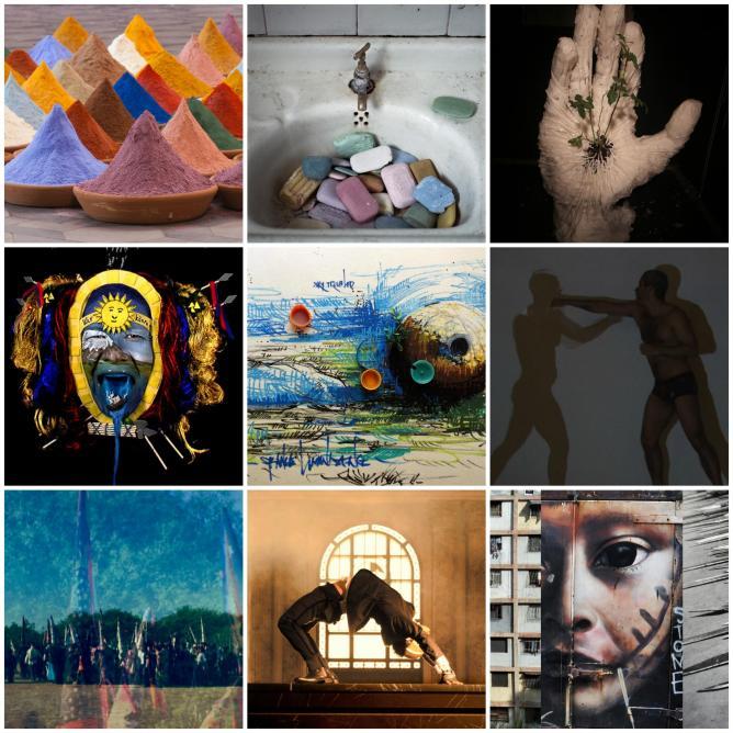 Latina American Pavilion, Various Artists