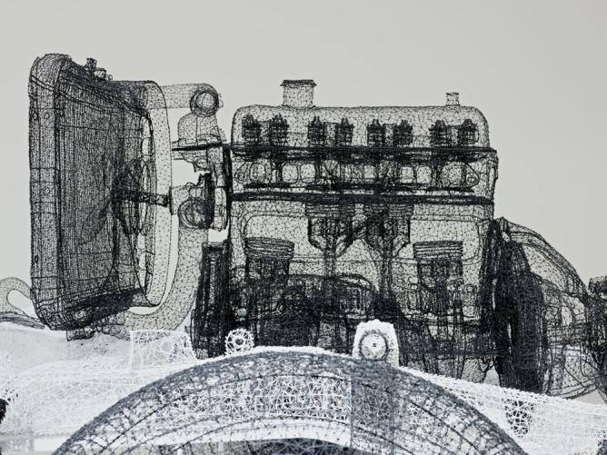 Shi Jindian 'Beijing Jeep's Shadow'