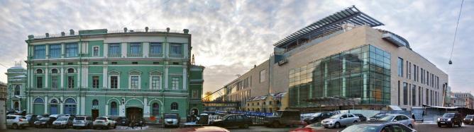 Exteriors of Mariinski Theatres