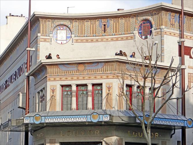 Louxor Palais De Cinema Restoring A Jewel Of Art Deco Architecture