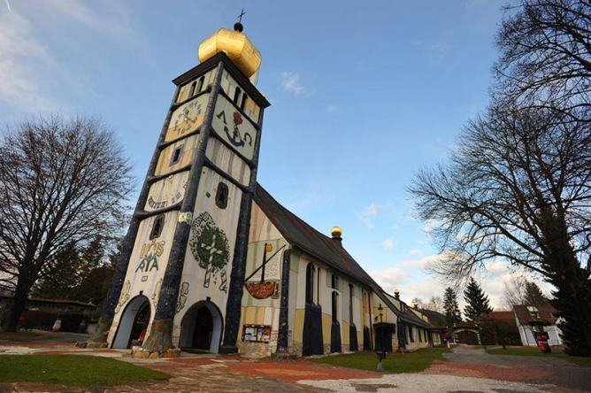 Hundertwasser church