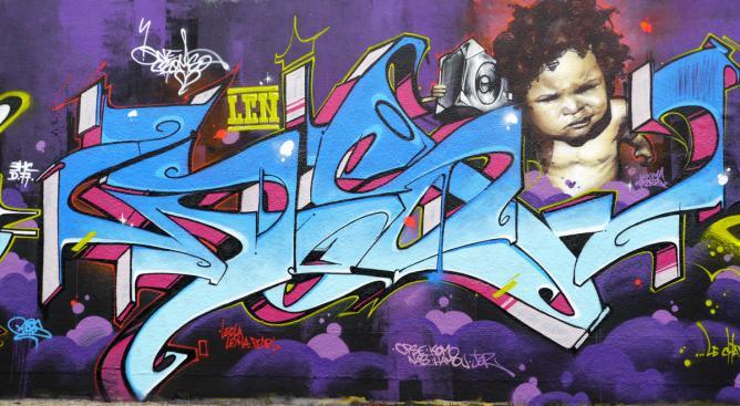 Comorian Graffiti Artist Socrome