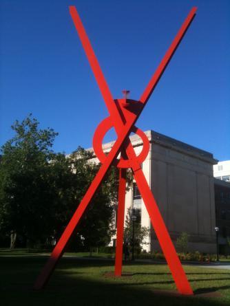 University of Michigan Orion Sculpture