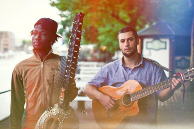 Joe Driscoll and Sekou Kouyate