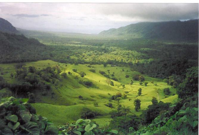 Samoa - Falefa Valley
