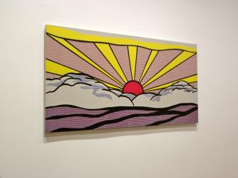 Roy Lichtenstein work on exhibit at the Art Institute of Chicago