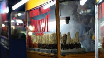 Satay food stall