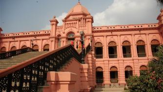 The Pink Palace of Ahsan Manzil