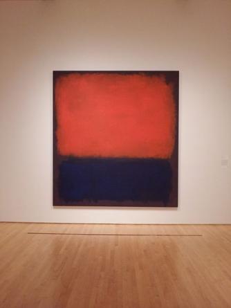 Mark Rothko, Rothko No. 14, SF MoMA, San Francisco | © Notnarayan/WikiCommons