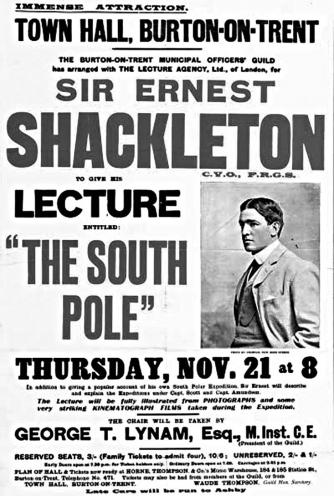 Poster of Ernest Shackleto