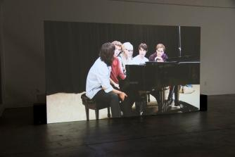 Koki Tanaka, A Piano Played by Five Pianists at Once (First Attempt), 2012