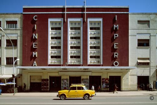 Cinema Impero Asmara © Edward Denison