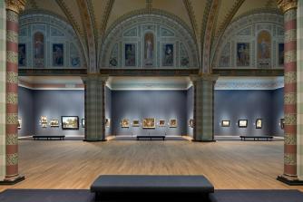 Gallery of Honour, Rijksmuseum   Photo by Iwan Baan, Image Courtesy of Rijksmuseum