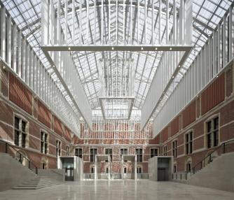 Rijksmuseum Atrium, Rijksmuseum   Photo by Pedro Pegenaute, Image courtesy of Rijksmuseum