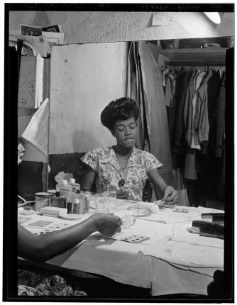 Sarah Vaughan, Café Society (Downtown), New York, N.Y.