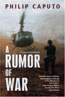 A Rumor Of War (1999) by Philip Caputo