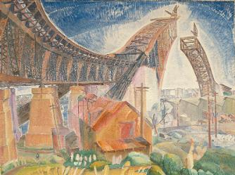 Grace Cossington Smith, The Bridge in Curve