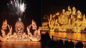 Nakhon Phanom Illuminated Boat Procession
