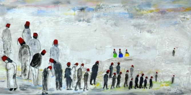 Faika Al Hassan, Faika Al Hassan, Untitled, from Not Entirely Red, 2010