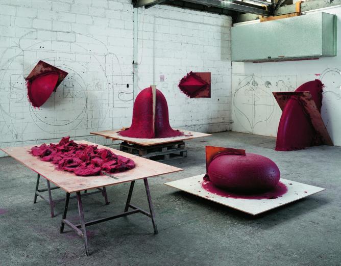 Anish Kapoor, Artist's Studio