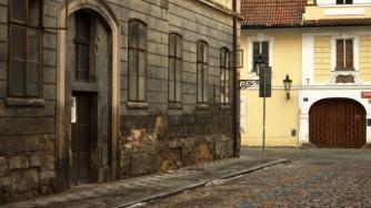 abandoned buildings in prague