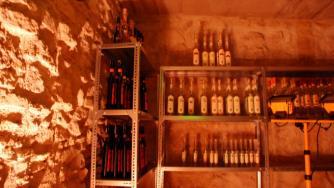 Wine cellars in Budapest