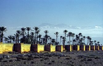 Marrakesh, devensive wall