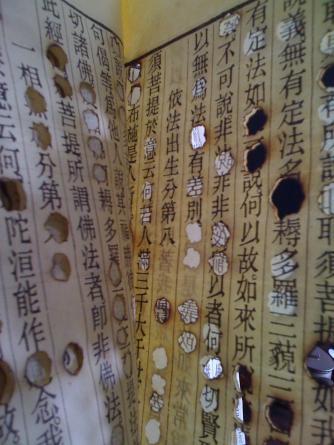 Hu Qinwu, Burned and altered book