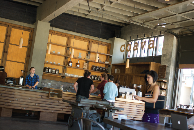 Coava Coffee, Portland