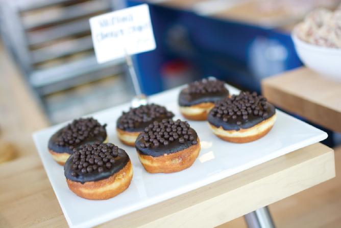 Valrhona Chocolate Crunch, Blue Star Donuts