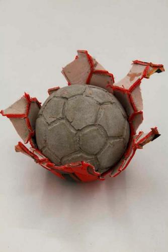 Khaled Jarrar, Concrete Football Red