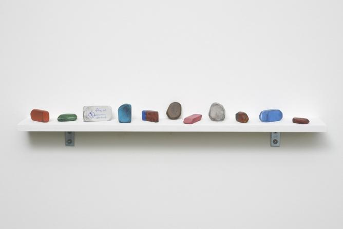 David Adamo, Untitled (Shelf 2)